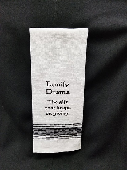 #152024 - FAMILY DRAMA TOWEL