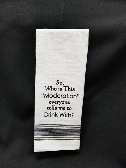 #161505 - WHO'S MODERATION TOWEL