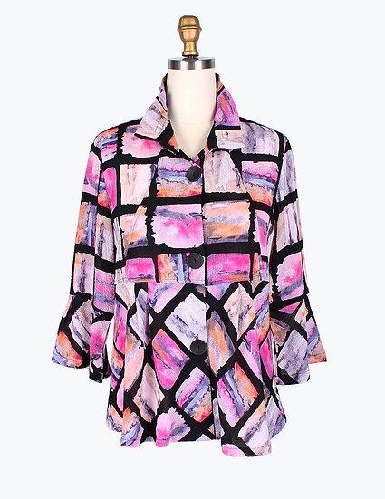Damee - 4633 Brush Stroke Jacket