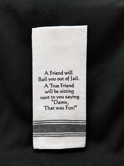 #148851 - GOOD FRIEND TOWEL