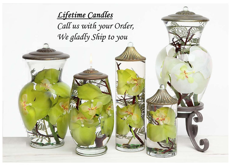 Lifetime Refillable Candles