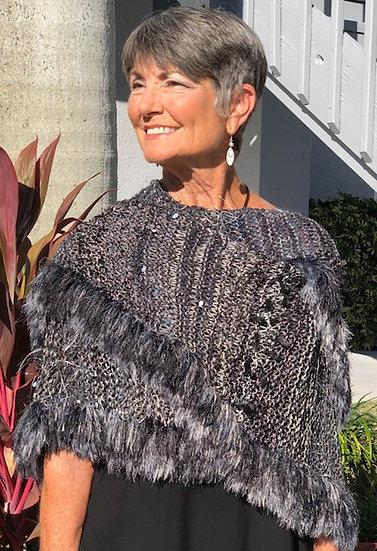 Ricki Levine - Handmade Cashmere Cape
