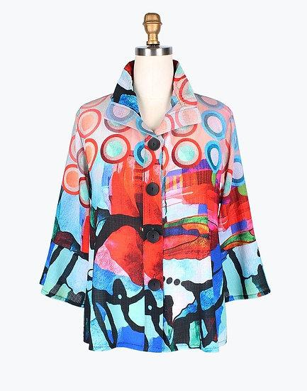 Damee - 4632 Circle Abstract Jacket