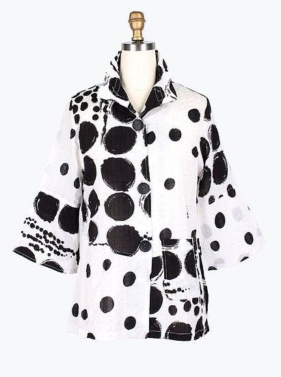 Damee - 4603 4Panel Mix Dot Jacket