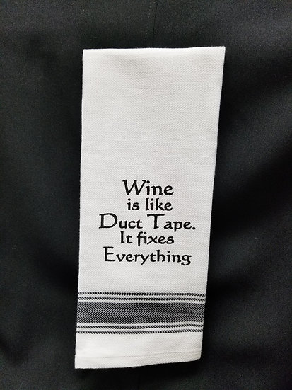 #152033 - WINE / DUCT TAPE TOWEL