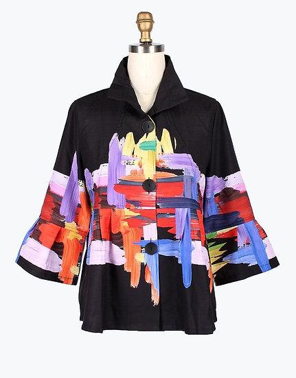 Damee - 4622 Oil Painting Jacket
