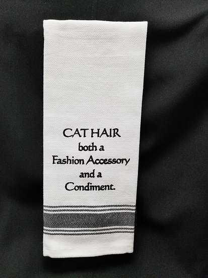 #152022 - CAT HAIR TOWEL