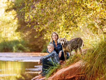 Almost Fall Family Session