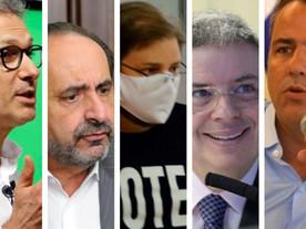Seis nomes estão se cacifando para três dos principais cargos de Minas em 2022