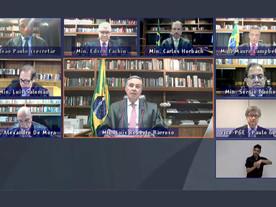 Judiciário reafirma que é o único capaz de frear golpismo de Bolsonaro
