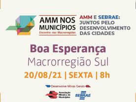 AMM e Sebrae alavancam o turismo nos municípios a partir do Sul