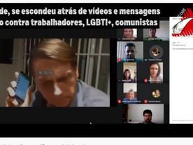 Com mensagens de ódio, bolsonarista invade reuniões virtuais de sindicatos
