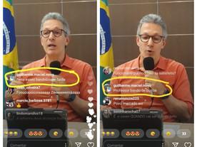 Filiado ao Novo difama professores e policiais durante live de Zema