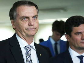 Ciúmes de Bolsonaro não afetam popularidade nem favoritismo de Moro em 2022