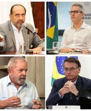 De olho na eleição, Zema, Kalil, Lula e Bolsonaro racham o maior partido de Minas