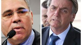 Ministro da Saúde passou no teste e não será mais demitido por Bolsonaro
