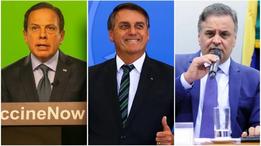 Aécio se alia a Bolsonaro e abre crise dentro do PSDB contra Doria
