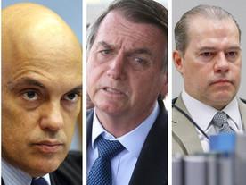STF e Câmara freiam bolsonarismo radical; ministro acusa dinheiro internacional
