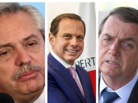 Dória e Argentina pressionam Bolsonaro na vacinação; Minas está refém