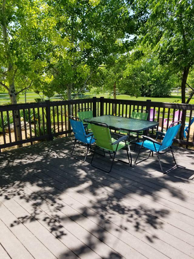 trex deck patio