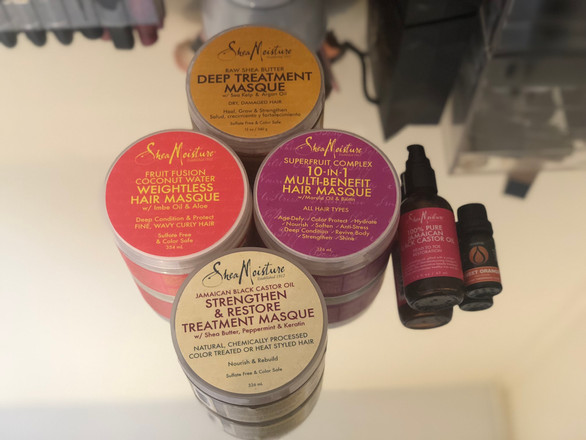 Updated Hair Mask Routine