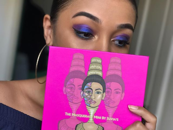 Juvia's Place Masquerade Eyeshadow Palette Review
