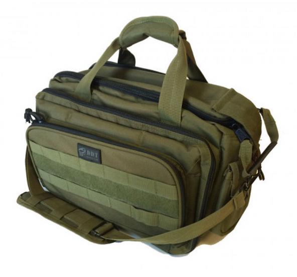 DDT Ranger 4-Pistol Range Bag - OD Green