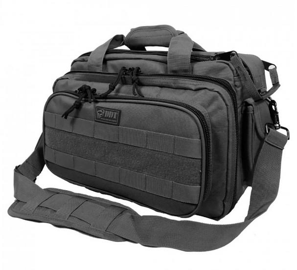 DDT Ranger 4-Pistol Range Bag - Gun Metal