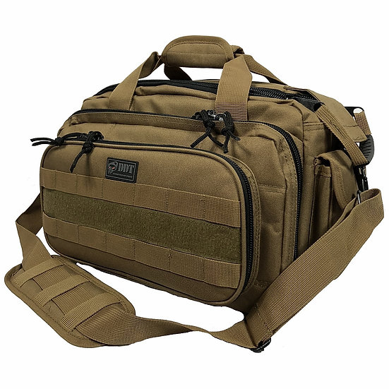 DDT Ranger 4-Pistol Range Bag - Coyote Brown
