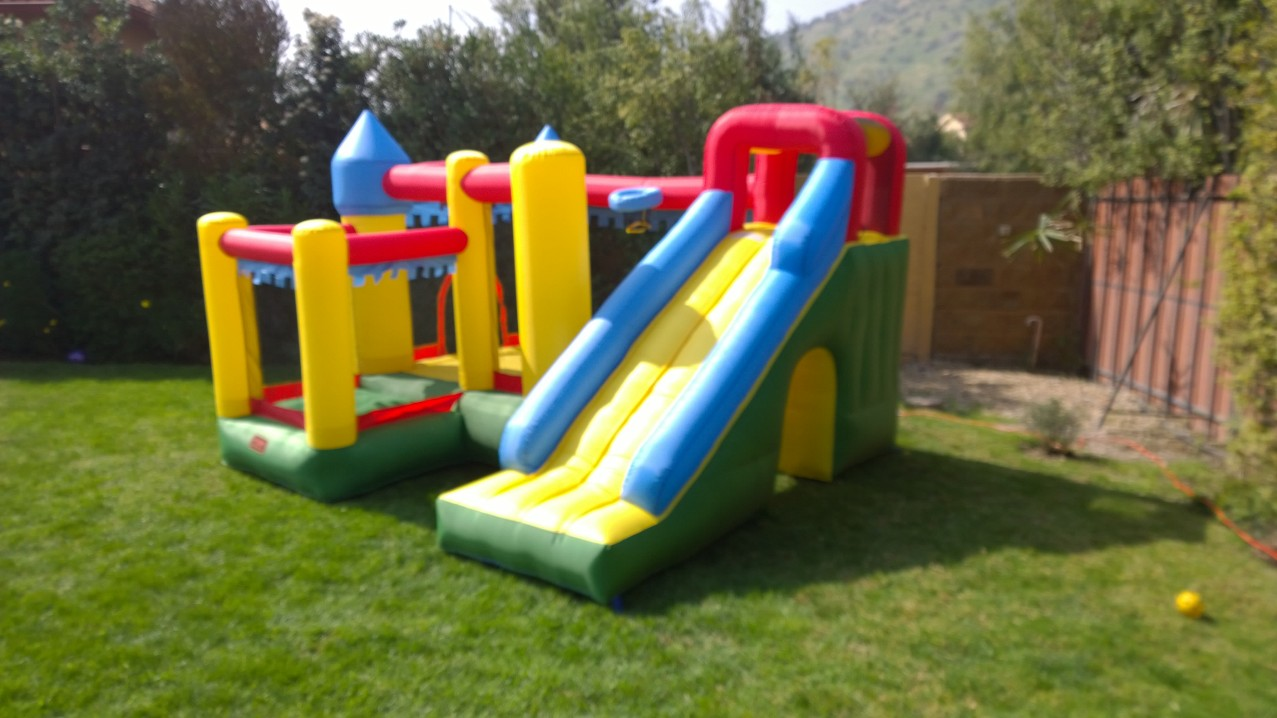 Inflable castillo con Tobogan