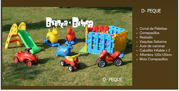 Combo D - Peques $45.990