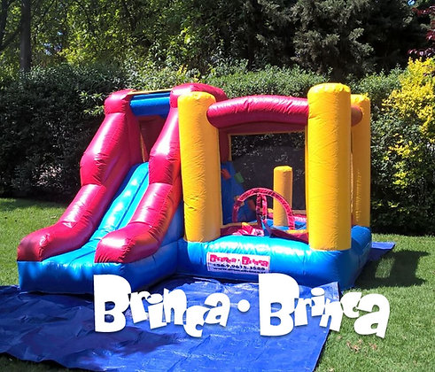 Inflable 3x3 con escalador