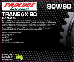 Prolube Transax 80W90