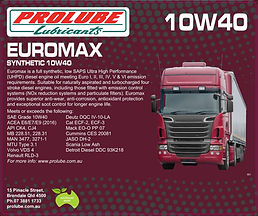 Prolube Euromax 10W40
