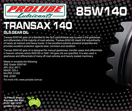 Prolube Transax 85W140