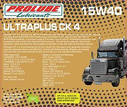 Prolube Ultraplus CK4 15W40