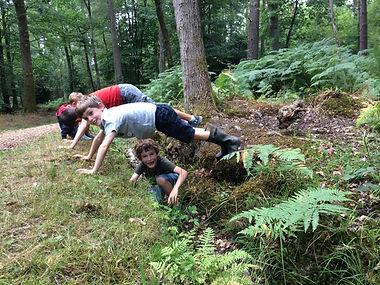 cousins in a ditch.jpg