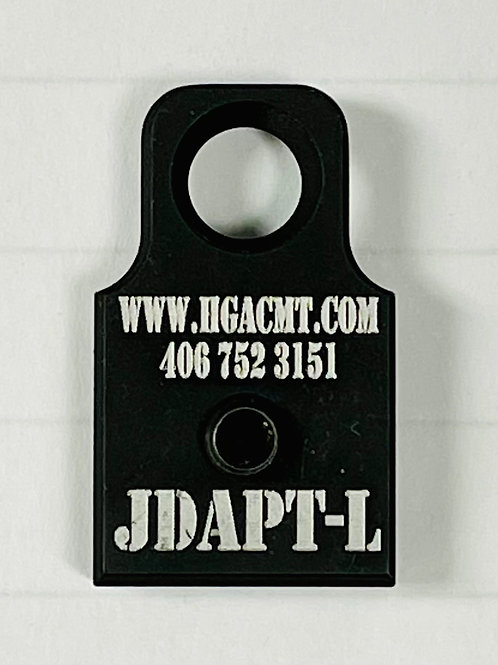 JDAPT-L Bungee Retention Device for Helmet Mounted Optics