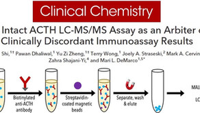 An Intact ACTH LC-MS/MS Assay as an Arbiter of Clinically Discordant Immunoassay Results.