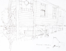 working sketch for Cochranes's