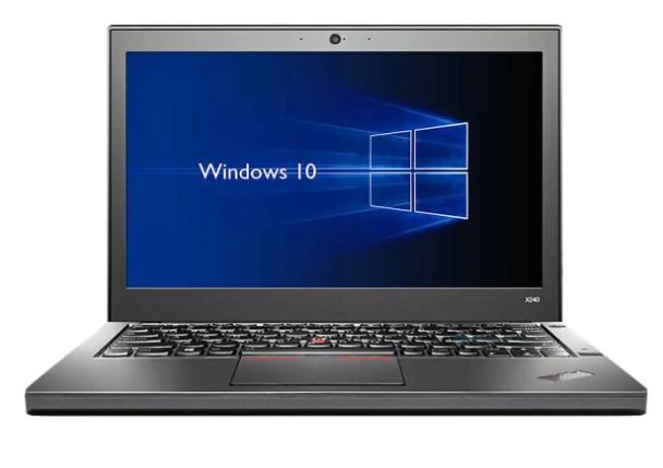 "Lenovo Thinkpad X250 SSD 2.3/2.9 GHZ 12"""