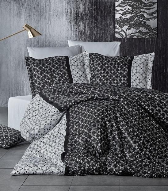 Dama Siyah egyszemélyes szatén ágynemű