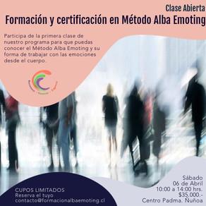 Próximo taller introductorio Método Alba Emoting