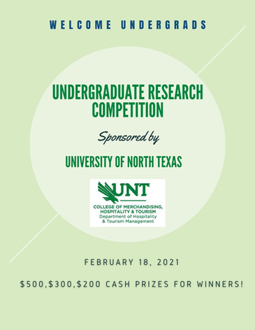Undergraduate Research Competition