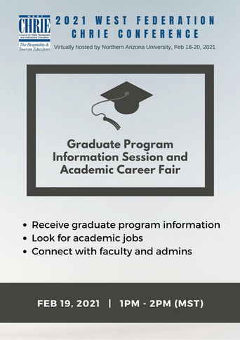 Graduate Program Information Session and Academic Career Fair