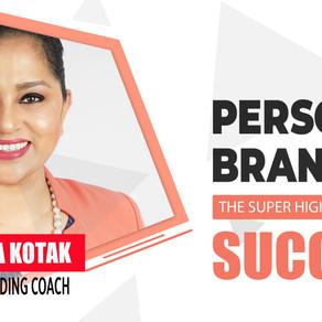 Personal Branding | Pink Talk | Poornima Kotak