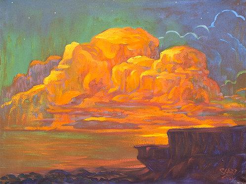 Brilliant Sundown Clouds