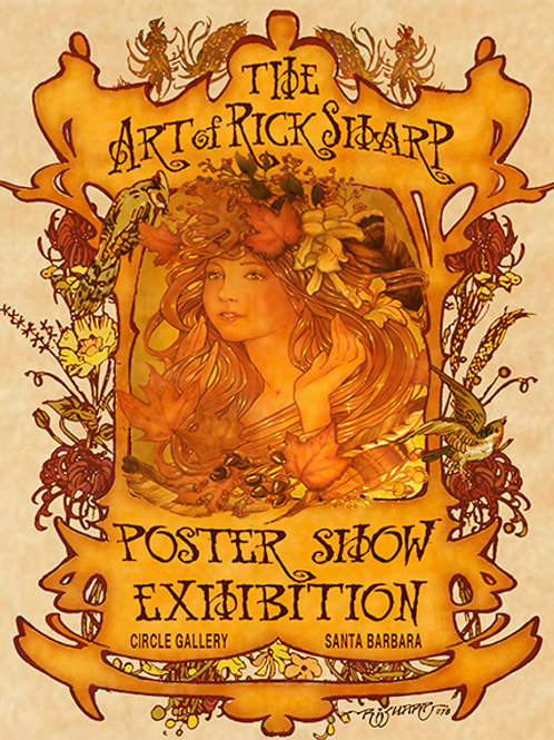 Rick Sharp Poster Show