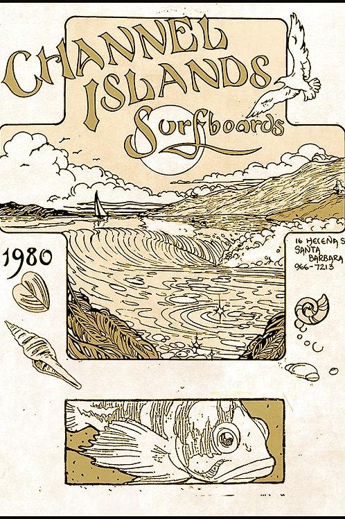 1980 Channel Islands Calendar