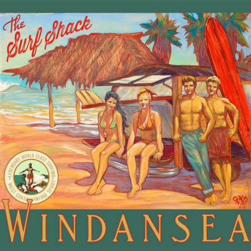 WindanSea La Jolla Vintage California Surf Art